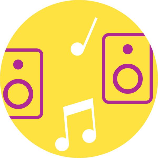 Enjoy high-quality sound.*